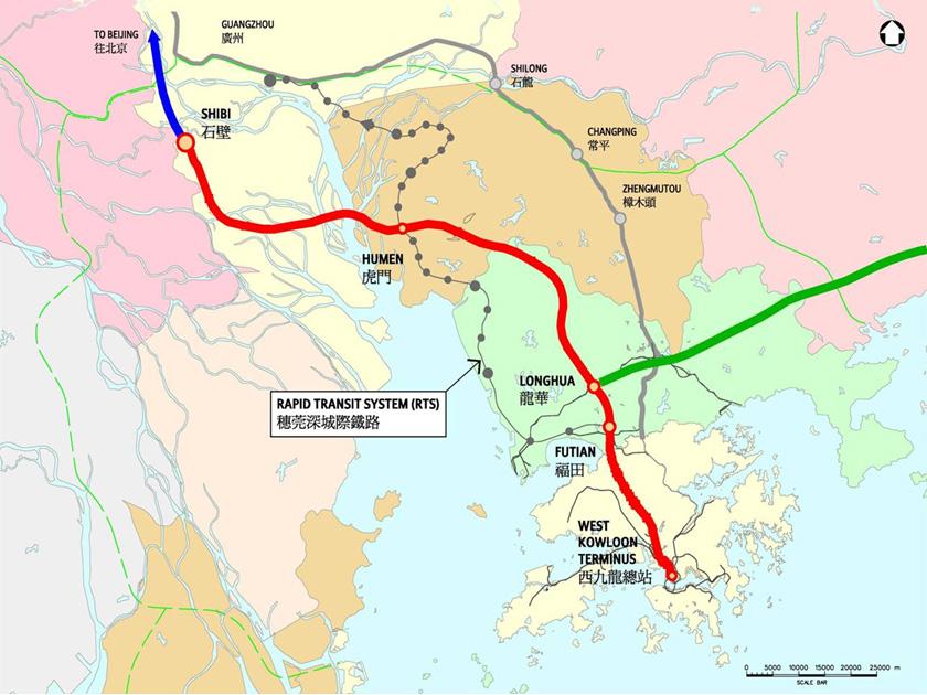 深圳到广州的高速路必须经过虎门大桥么